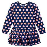 Toobydoo Juicy Dots Ruffle Bottom Dress (Toddler, Little Girls, & Big Girls)