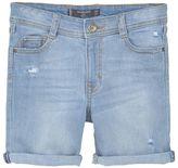 MANGO Boys Denim bermuda shorts
