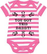 TeeStars - You Got This Daddy Funny Bodysuit Father's Day Gift Cute Baby Onesie 12M