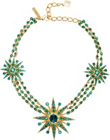 Oscar de la Renta Crystal Star Necklace