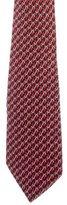 Hermes Belt Print Silk Tie