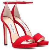 Jimmy Choo Misty 120 suede sandals