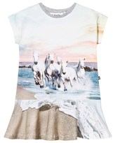 Molo White Horse Caeley Dress