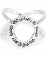 Lucky Brand Pave Open Ring
