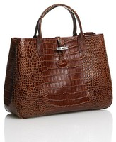 Roseau Crocodile Satchel