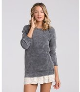 Billabong Junior's Right Away Oversized French Terry Sweatshirt