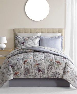 Fairfield Square Collection Evelyn 8-Pc. Reversible Queen Comforter Set Bedding