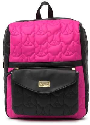 Betsey Johnson LUV BETSEY BY Lorene Backpack & Detachable Logo Crossbody