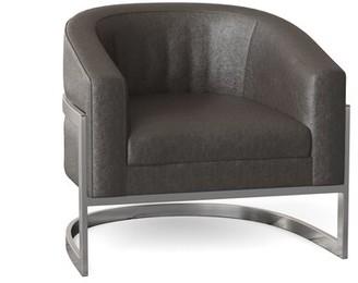 Bernhardt Callie Barrel Chair Body Fabric: Bittersweet 267-222