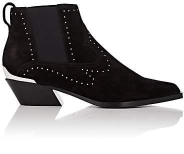 Rag & Bone Women's Westin Studded Suede Ankle Boots - Black