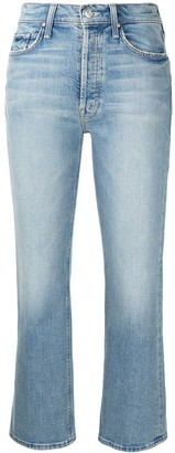 Mother Tripper cropped jeans