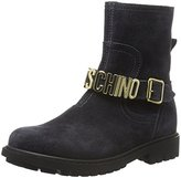 Moschino Girls' 25956 Short Boots grey Size:
