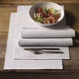The White Company Grey Chambray Placemats