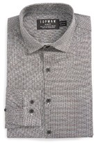 Topman Men's Classic Fit Print Dress Shirt