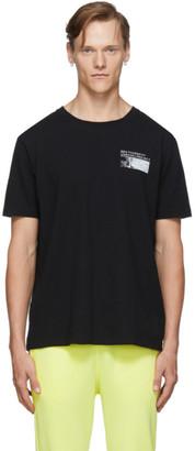 Unravel Black Concrete J T-Shirt