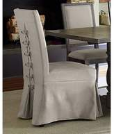 Progressive Furniture Muses Upholstered Parsons Chairs in Dove Grey (Set of 2)