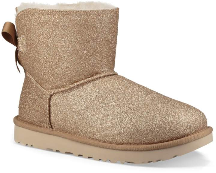 2e12097a658 Mini Bailey Bow Sparkle Dyed Shearling Boots