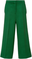 Rochas Wide Legged Cropped Pant