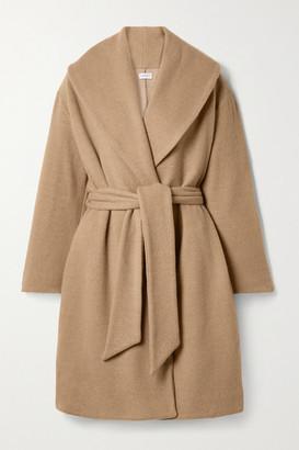 Leset Sierra Wool-blend Robe - Beige
