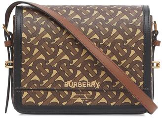 Burberry small Grace monogram print crossbody bag