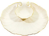 One Kings Lane Vintage Lenox Gold-Rimmed Shell Dip Bowl - Janney's Collection
