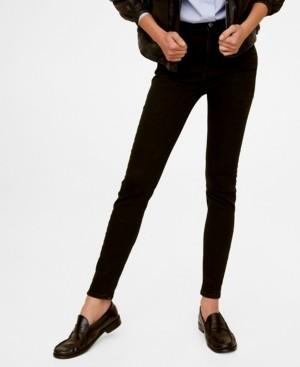 MANGO Women's High Waist Skinny Noa Jeans