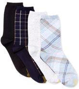 Gold Toe Women's 4-Pk. Madras & Summer Plaid Socks
