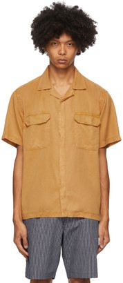 Saturdays NYC Orange Gibson Double Pocket Shirt