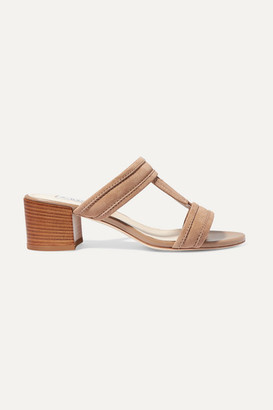 Tod's Suede Sandals - Brown
