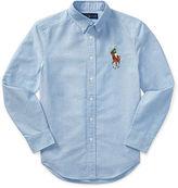 Ralph Lauren 8-20 Cotton Oxford Sport Shirt