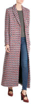MSGM Virgin Wool Maxi Coat