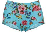 Dolce & Gabbana High Waisted Floral Bikini Bottom