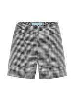Sambag Baxter Gingham Print Shorts