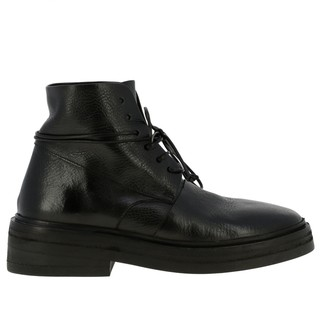 Marsèll Gommolone Boots In Leather With Multilayer Rubber Sole