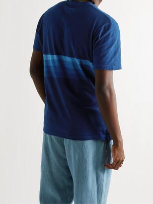 Blue Blue Japan Indigo-Dyed Slub Cotton-Jersey T-Shirt