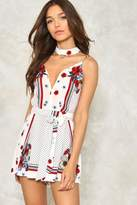 Nasty Gal nastygal The Hissing of Summer Lawns Floral Romper
