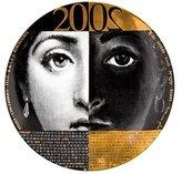 Fornasetti 2002 Calendar Plate #35