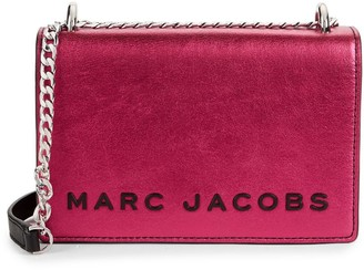 Marc Jacobs Double Take Metallic Leather Convertible Crossbody