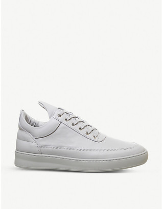 Filling Pieces Lane leather low-top trainers