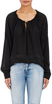 L'Agence Women's Crawford Silk Chiffon Blouse