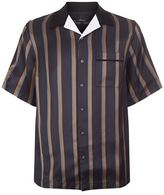 3.1 Phillip Lim Short Sleeved Striped Bowler Shirt