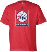 adidas Boys' Philadelphia 76ers Primary Logo Climalite T-Shirt