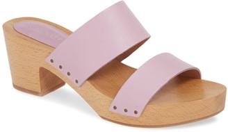 Madewell The Clara Clog Sandal