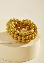 Burst Your Bauble Bracelet in Mustard