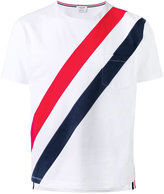 Thom Browne striped pocket T-shirt