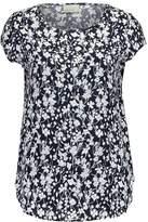 Vero Moda VMMIXY Print Tshirt navy blazer/white