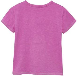 Mintie By Mint Velvet Girls Wild Heart T-Shirt - Purple