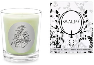 Qualitas Candles Jasmine Scented Beeswax Candle