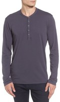Velvet by Graham & Spencer Men's Slim Fit Long Sleeve Henley