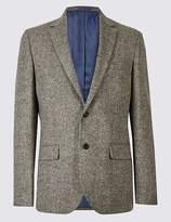 Marks and Spencer Pure Wool Barleycorn Jacket